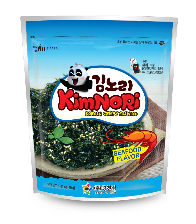 Хлопья из водорослей (вкус Креветки) KimNori, 40 г.
