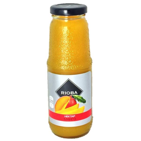 Сок из манго с мякотью RIOBA, 0,25л.
