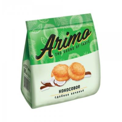 Печенье кокосовое «Arimo», сдобное, 250 г