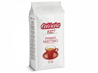 Кофе зерно Carraro Primo Mattino, 1 кг.