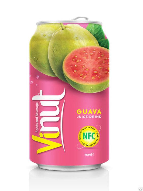 Сок гуавы Vinut, 330 мл.
