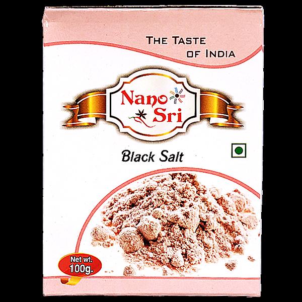 Черная соль Nano Sri, 100 г.