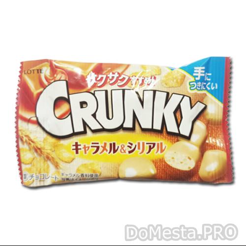 Шоколадные шарики с карамелью и злаками Crunki, 32 г