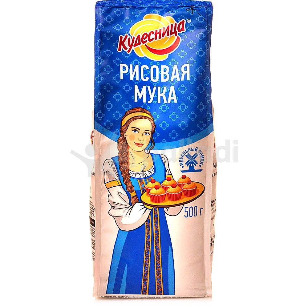 Мука рисовая Кудесница, 500 г.