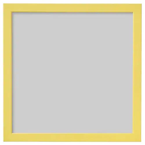 ФИСКБУ Рама, желтый 30x30 см