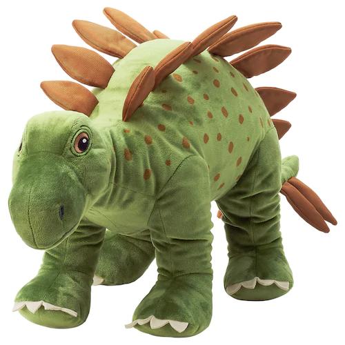 ЙЭТТЕЛИК Мягкая игрушка, динозавр, Стегозавр 75 см