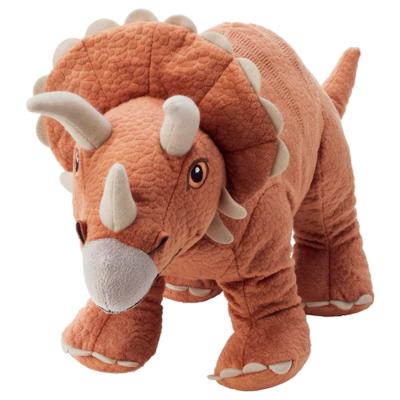 ЙЭТТЕЛИК Мягкая игрушка, динозавр, Трицератопс 46 см