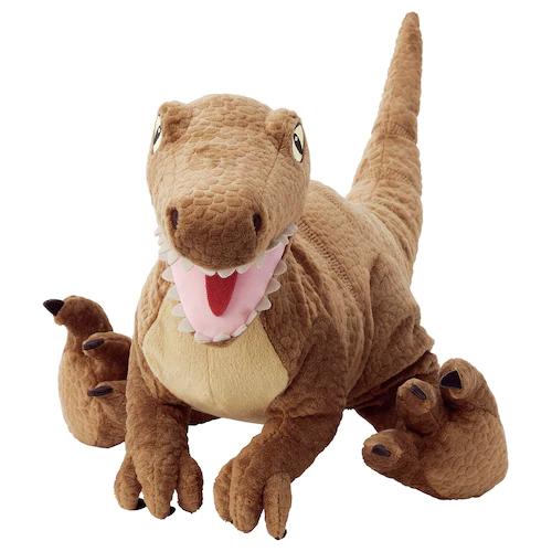 ЙЭТТЕЛИК Мягкая игрушка, динозавр, Велоцираптор 44 см