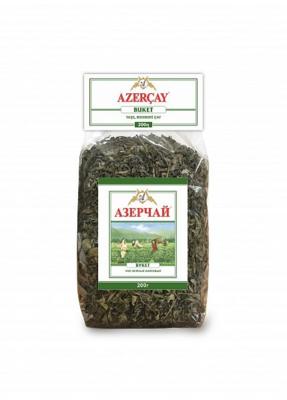 Чай зеленый АЗЕРЧАЙ листовой байховый букет, 200 г
