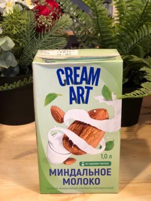 Напиток Миндальное молоко CreamArt , без лактозы, 1 л.