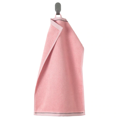 ВИКФЬЕРД Полотенце, розовый 30x50 см