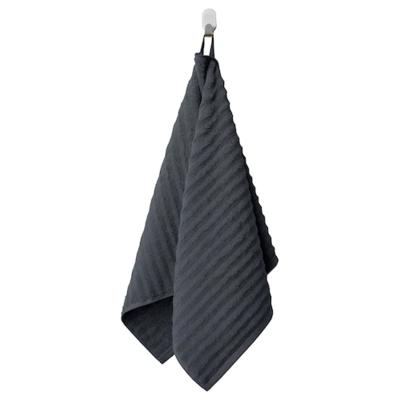 ФЛОДАРЕН Полотенце, темно-серый 50x100 см