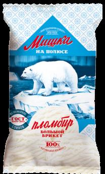 Мороженое Мишка на полюсе, пломбир БЗМЖ, брикет BIG 200 г.