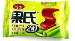 Жевательная резинка Fruits 2 в1 арбуз 18 г