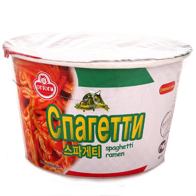 Лапша б\п Оттоги спагетти, 120 г