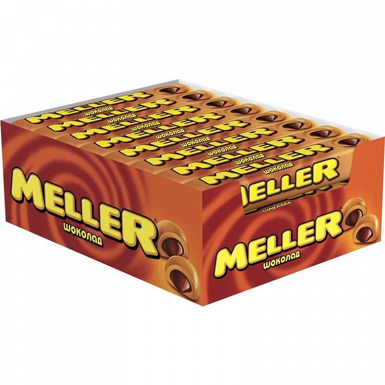 Ирис MELLER молочный шоколад 38г