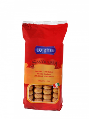 Печенье для тирамису Савоярди REGINA, Италия, 400 г.