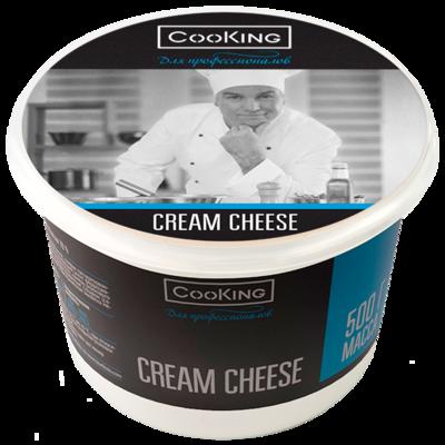 Сыр мягкий Кремчиз 70%, CooKING, 500 г