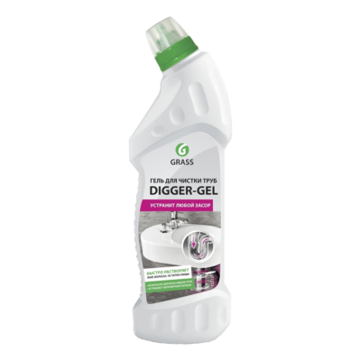 Гель для чистки труб Digger-gel, Grass 0.75 л