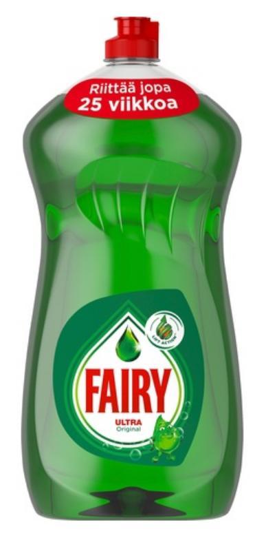 Средство для мытья посуды Фейри (Fairy Ultra Original-Финский) 1,25 л