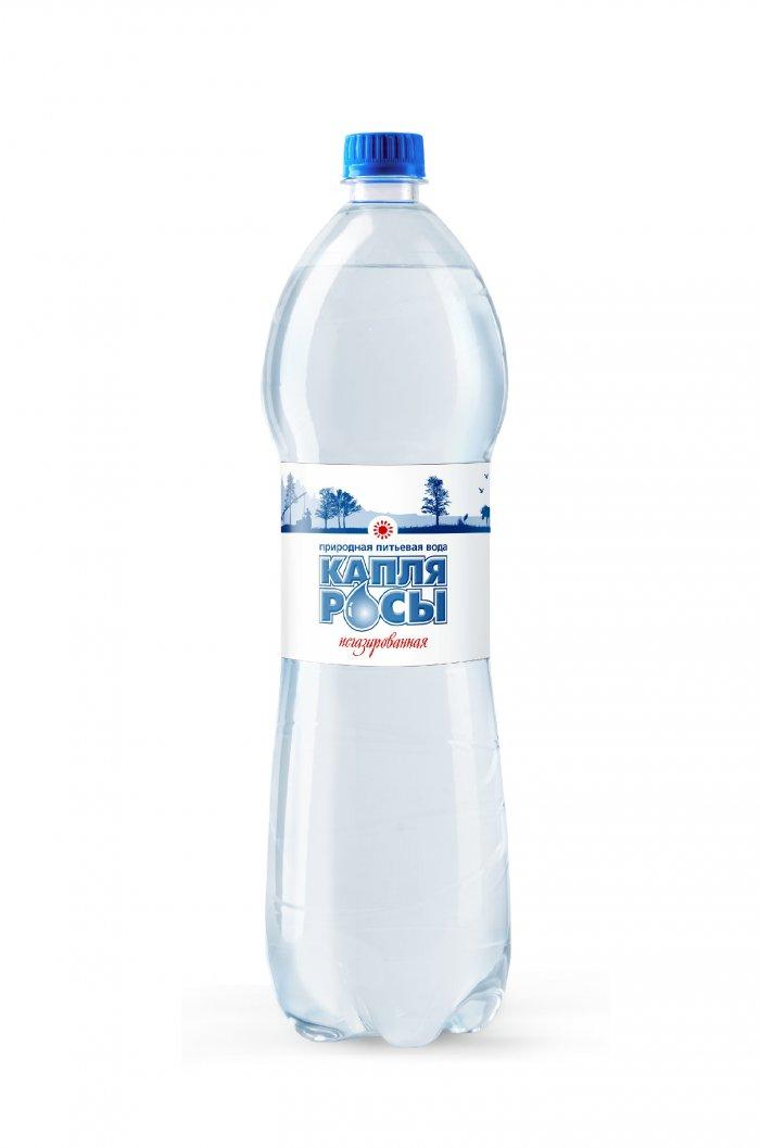 Вода питьевая Капля росы (негаз.) 1,5 л