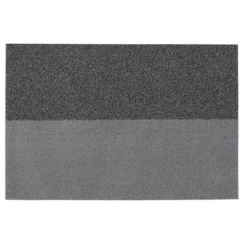 ДЖЕРСИ Придверный коврик, темно-серый 60x90 см