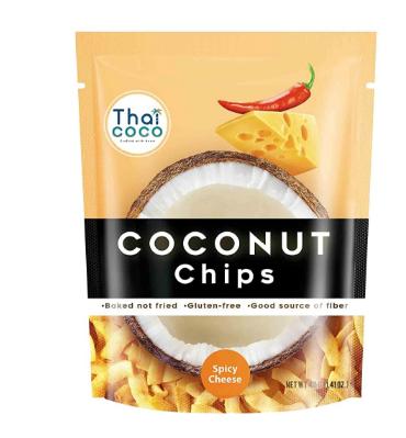 Кокосовые чипсы со вкусом острого сыра Thai Coco, 40 г