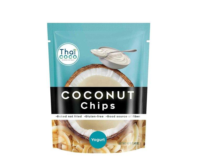 Кокосовые чипсы со вкусом йогурта Thai Coco, 40 г