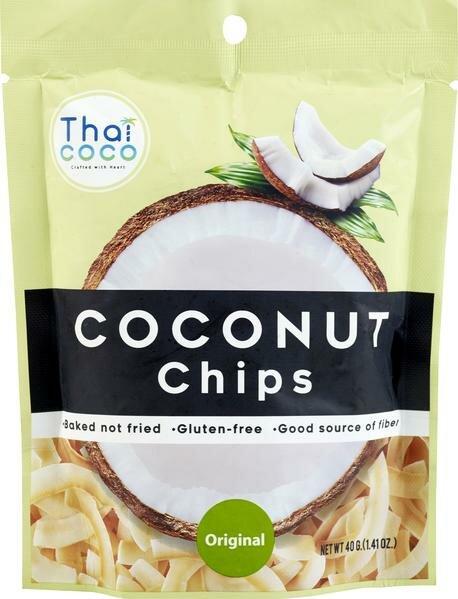 Кокосовые чипсы оригинальные Thai Coco, 40 г