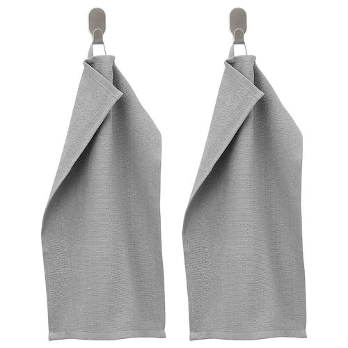КОРНАН Полотенце, серый 30x50 см