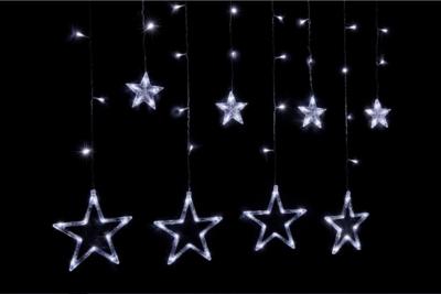 Гирлянда Звезды, с контроллером 8 реж., 2,5 м