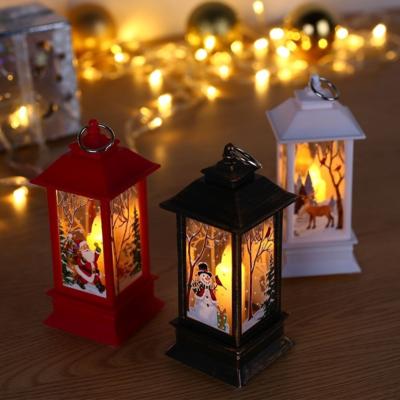 Фонарик новогодний с подсветкой