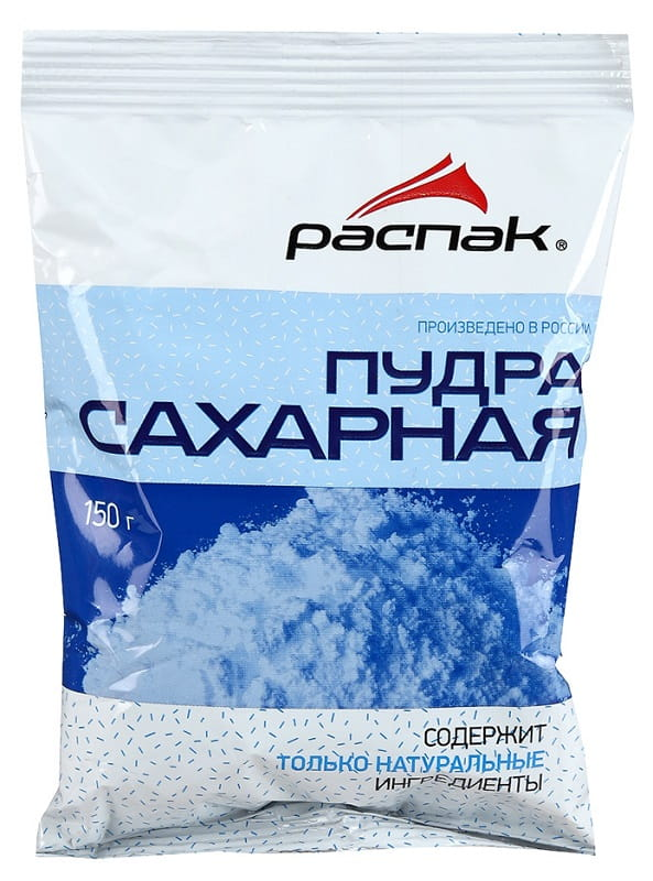 Сахарная пудра РАСПАК, 150 г