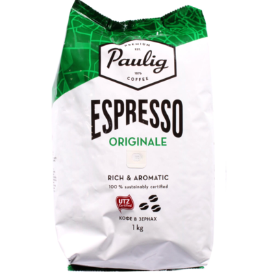 Кофе Paulig эспрессо Ориджинал зерно 1 кг