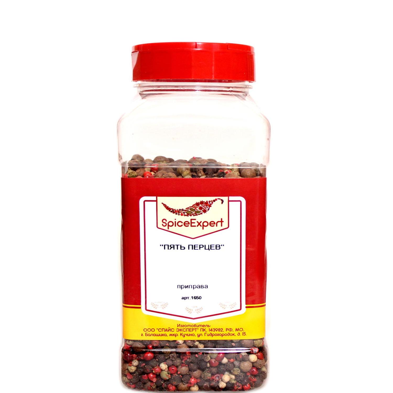 ПРИПРАВА 5 перцев горошек SpiceExpert, 400 г