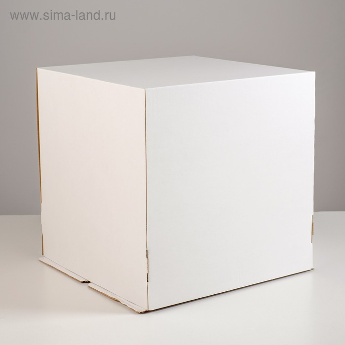Кондитерская упаковка, 30 х 30 х 30 см