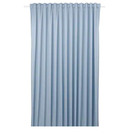 БЕНГТА Блокирующая свет гардина, 1 шт., синий 210x300 см