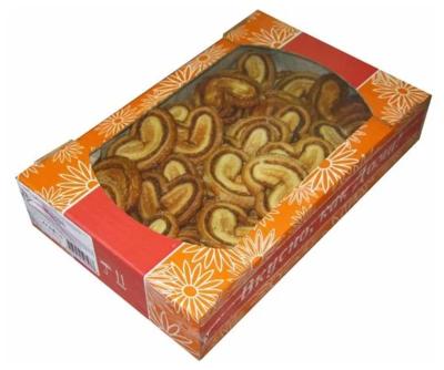 Печенье сдобное Валентинки, в асс. 420 г