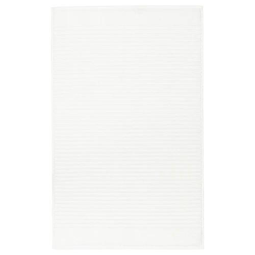 АЛЬСТЕРН Коврик для ванной, белый 50x80 см