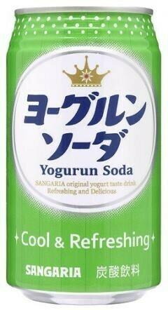Лимонад SANGARIA Йогурт сода, Япония, 330МЛ