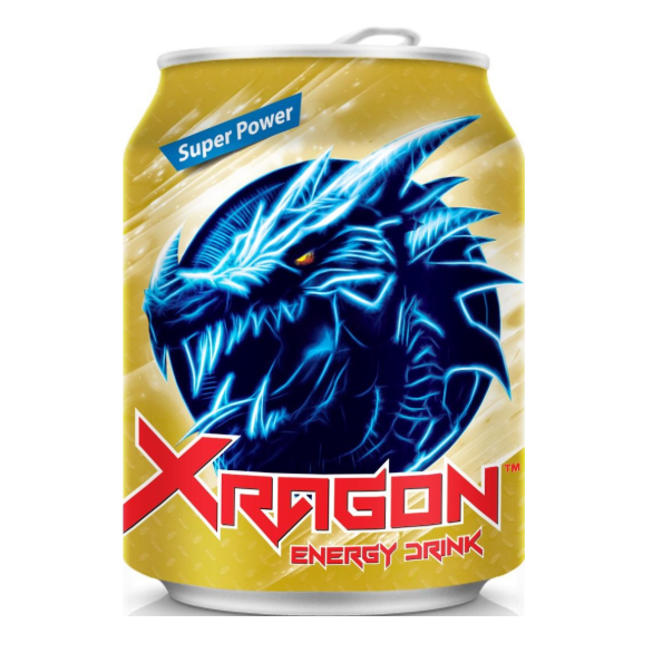 Напиток энергетический Xragon Vinut, 250 мл