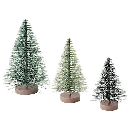 ВИНТЕР Набор украшений, 3шт, рождественская елка зеленый