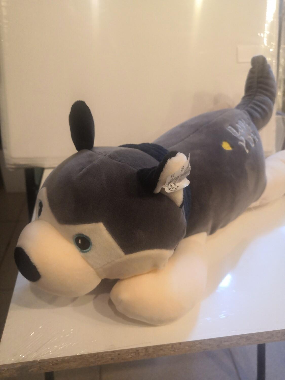Мягкая игрушка, Собака Хаски 40 см