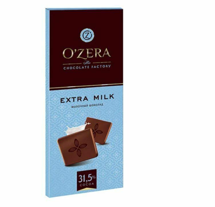 Шоколад молочный «OZera», 90 г
