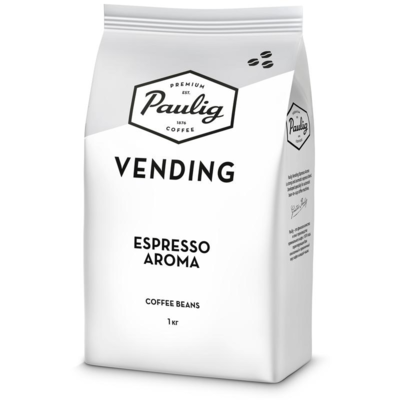 Кофе Paulig Vending Espresso Aroma зерно, 1 кг