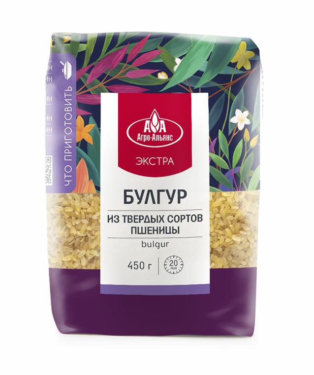Булгур пшеничный, Агро-Альянс, 450 г