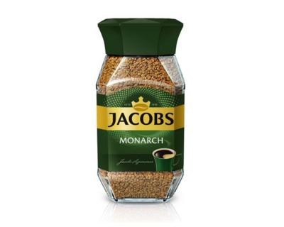 Кофе JACOBS MONARCH, растворимый, стекло, 95 г