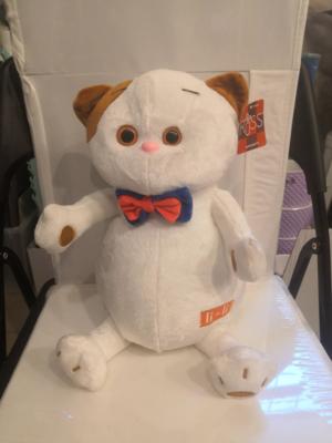 Мягкая игрушка, Кот белый li-li 30 см