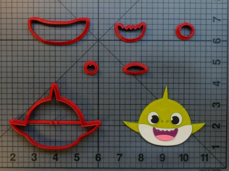 Форма для печенья и пряников Акула