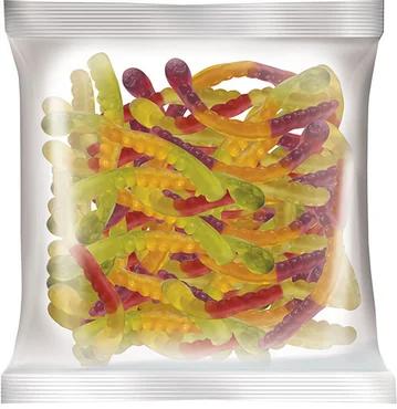 Мармелад жевательный КрутФрут, Змейка (фрукт.микс) 0,5 кг